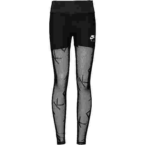Nike Air Mesh Lauftights Damen black-white