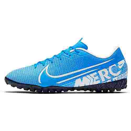 Nike MERCURIAL VAPOR 13 ACADEMY TF Fußballschuhe blue hero-white-obsidian