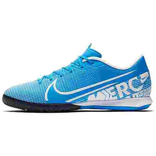 Nike MERCURIAL VAPOR 13 ACADEMY IC Fußballschuhe blue hero-white-obsidian
