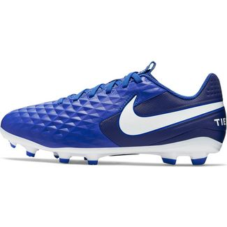 Nike JR TIEMPO LEGEND 8 ACADEMY FG/MG Fußballschuhe Kinder hyper royal-white-deep royal blue-hyper royal