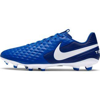 Nike TIEMPO LEGEND 8 ACADEMY FG/MG Fußballschuhe hyper royal-white-deep royal blue-hyper royal