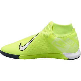 Nike PHANTOM VSN ACADEMY DF IC Fußballschuhe volt-white-volt-obsidian