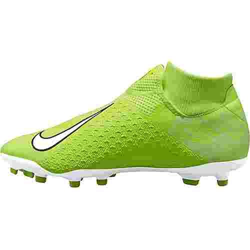 Nike PHANTOM VSN ACADEMY DF FG/MG Fußballschuhe volt-white-volt-obsidian