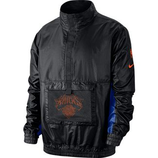 Nike New York Knicks Windbreaker Herren black-black-rush blue