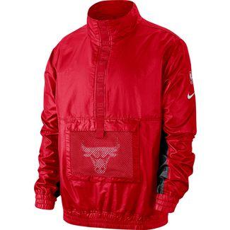 Nike Chicago Bulls Windbreaker Herren university red-chile red-black