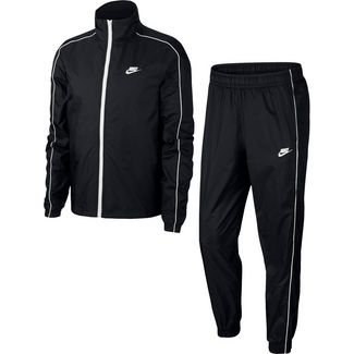 Nike NSW TRACK SUIT WOVEN Trainingsanzug Herren black-white-white