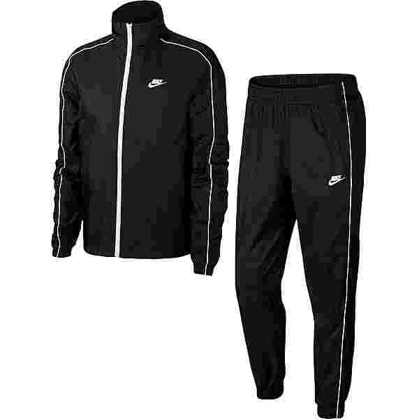 Nike NSW TRACK SUIT WOVEN Trainingsanzug Herren black-white-white