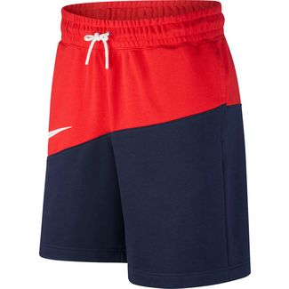 Nike NSW SWOOSH Shorts Herren university red-obsidian-white