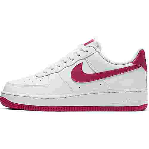 Nike Air Force 1 ´07 Sneaker Damen white-wild cherry-white-noble red