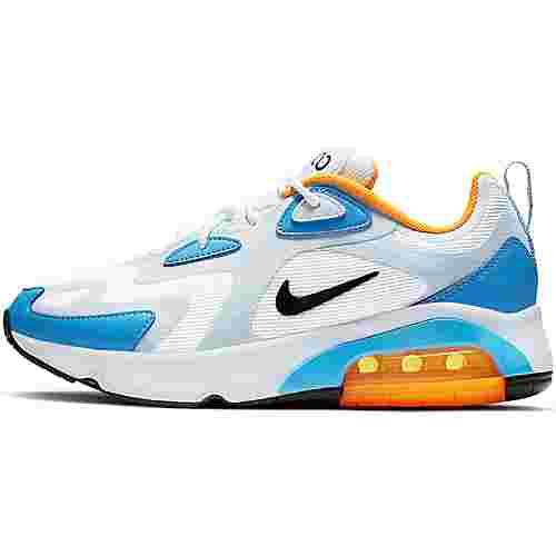 Nike Air Max 200 Sneaker Damen white black half blue university blue im Online Shop von SportScheck kaufen