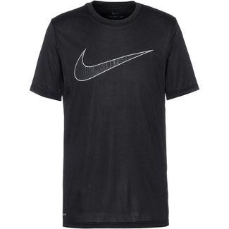 Nike Dry SWH FILL SSNL Funktionsshirt Herren black-habanero red-white