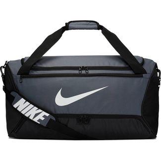 Nike Brasilia M Sporttasche Herren flint grey-black-white