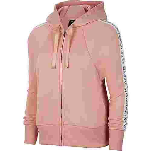Nike Dry Get Fit Sweatjacke Damen pink quartz-black