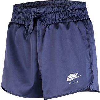 Nike Satin Shorts Damen sanded purple
