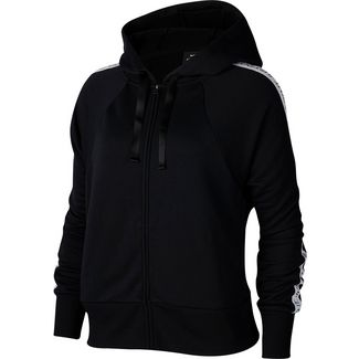 Nike Dry Get Fit Sweatjacke Damen black-white