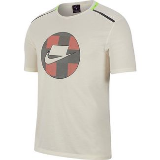 Nike Dry Funktionsshirt Herren pale ivory-reflective silv