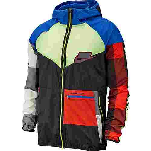 Nike Wild Run Funktionsjacke Herren game royal-black-volt-reflective silv