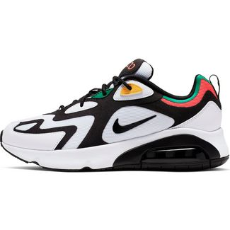 Nike Air Max 200 Sneaker Herren white-black-bright crimson