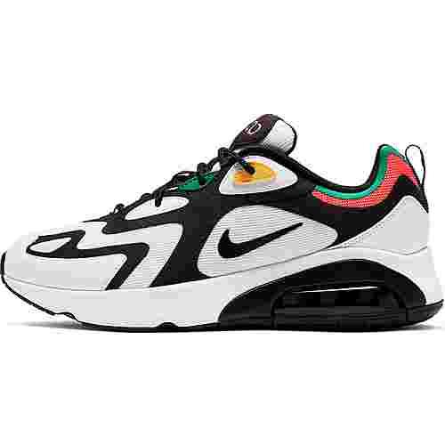 Nike Air Max 200 Sneaker Herren white-black-bright crimson