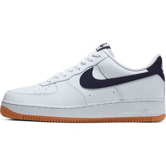 Nike Air Force 1 ´07 Sneaker Herren white-obsidian-university red