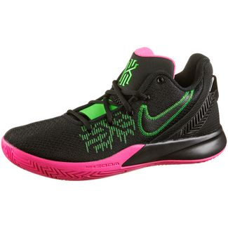Nike Kyrie Flytrap II Basketballschuhe Herren black-black hyper pink-rage green