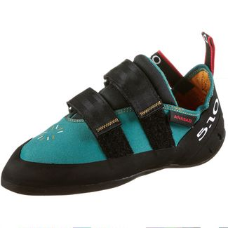 Five Ten Anasazi LV Kletterschuhe Damen collegiate aqua