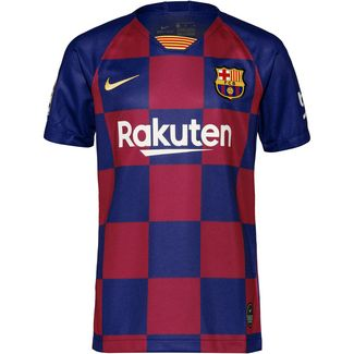 Nike FC Barcelona 19/20 Heim Fußballtrikot Kinder deep royal blue-varsity maize