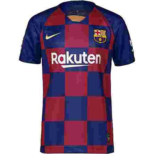 Nike FC Barcelona 19/20 Heim Fußballtrikot Kinder deep royal blue-varsity maize
