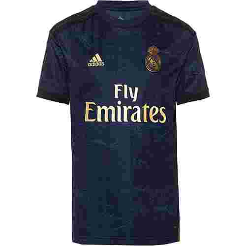 adidas Real Madrid 19/20 Auswärts Fußballtrikot Kinder night indigo
