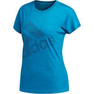 adidas Badge of Sport Funktionsshirt Damen active teal