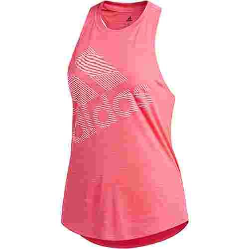 adidas Badge of Sport Funktionstank Damen real pink