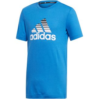 adidas Prime Funktionsshirt Kinder blue-white-black