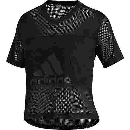 adidas BADGE OF SPORT Funktionsshirt Damen black