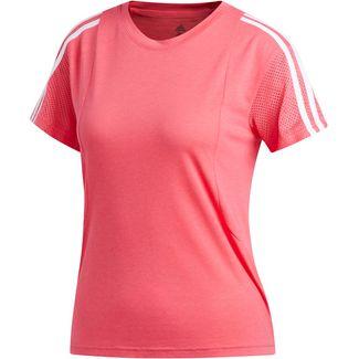 adidas 3S Funktionsshirt Damen real pink