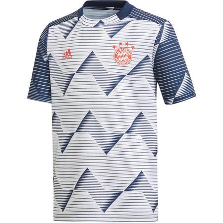 adidas FC Bayern Prematch Funktionsshirt Kinder Funktionsshirts 128 Normal   04061619525519