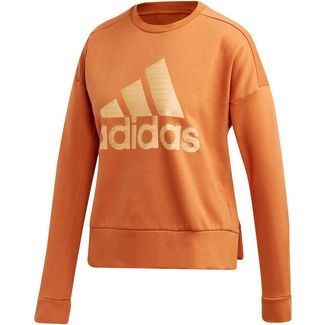 adidas ID Sweatshirt Damen tech copper