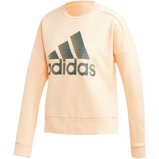 adidas ID Sweatshirt Damen glow orange
