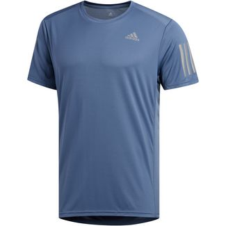 adidas Own the Run Laufshirt Herren tech ink