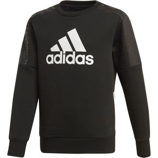 adidas Sweatshirt Kinder black-white