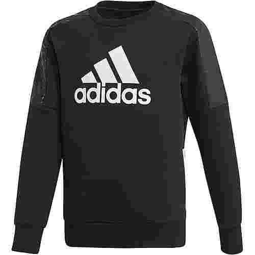 adidas Sweatshirt Kinder black-white