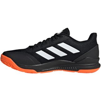 adidas Stabil Bounce Hallenschuhe Herren core black-ftwr white-solar orange