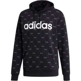 adidas Core Hoodie Herren black-grey five