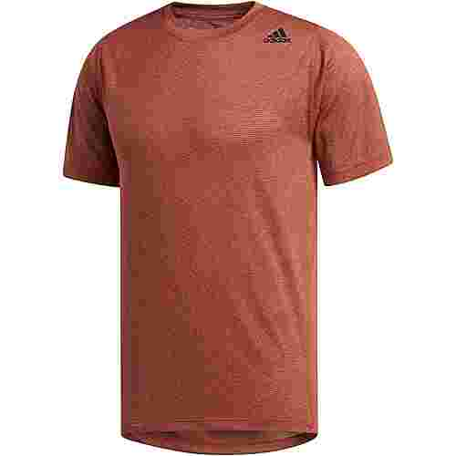 adidas Tech Funktionsshirt Herren active orange-heather