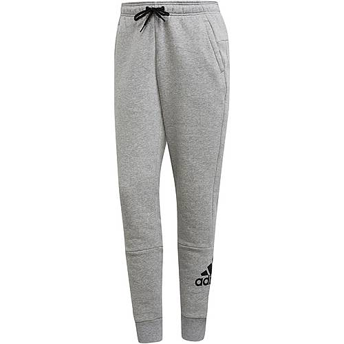 Adidas Badge of Sport Sweathose Damen medium grey heather im