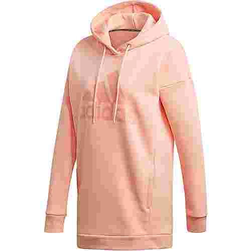 adidas Badge of Sport Hoodie Damen glow pink