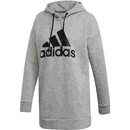 adidas Badge of Sport Hoodie Damen medium grey heather