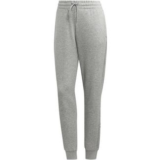 adidas Linear Sweathose Damen medium grey heather-bliss pink