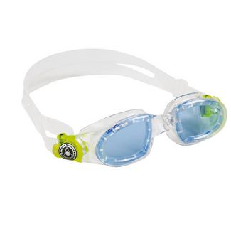 Aqua Sphere Moby Kid Schwimmbrille Kinder transparent/lime