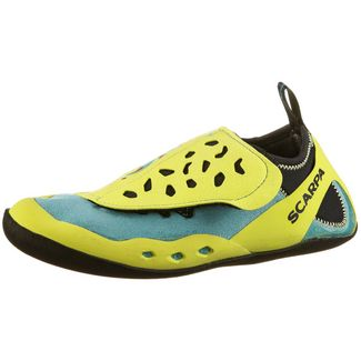 Scarpa Piki Kletterschuhe Kinder maledive-yellow
