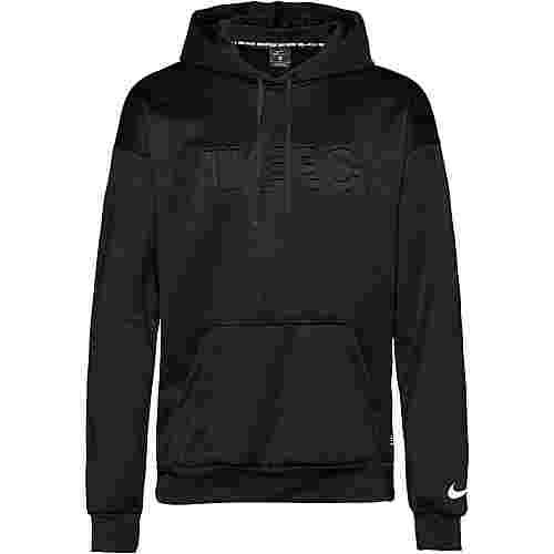 Nike Nike FC Hoodie Herren black-white